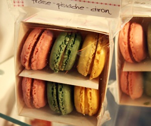 food, macaroons, and cute image