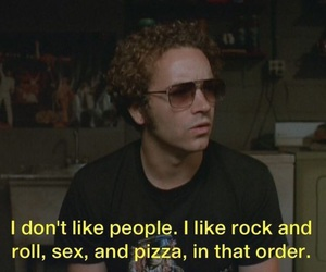 pizza, rock n roll, and sex image