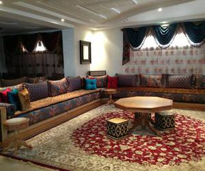 salon, marocain, and traditionel image