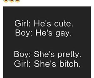 girl, boy, and bitch image