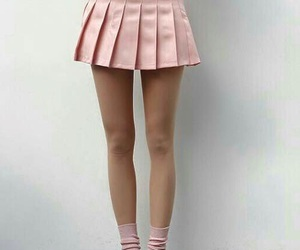 pink, skirt, and pastel image