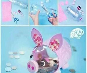 diy, pig, and alcancia image