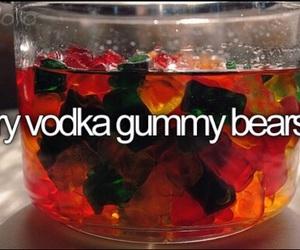 vodka, gummy bears, and bear image