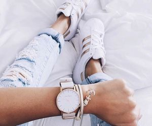 adidas, fashion, and watch image