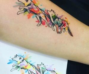 color, tattoo, and tattooed image
