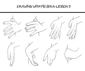 drawing, hands, and how to draw image