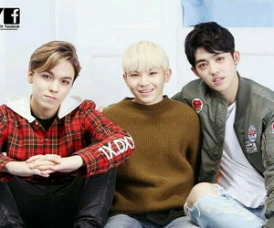 Seventeen, vernon, and woozi image