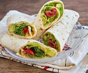 avocado, greens, and yummy image
