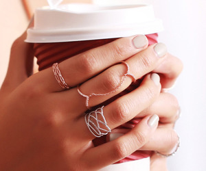 accessories, coffee, and delicate image