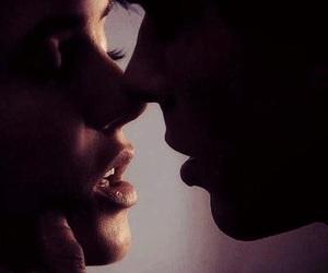 kiss, delena, and the vampire diaries image