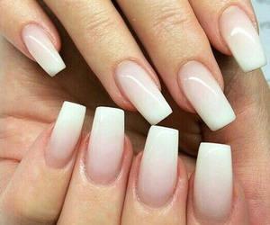 nails and white image