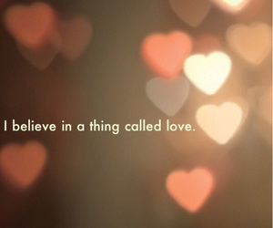 love, believe, and hearts image