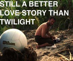 wilson, movies, and castaway image