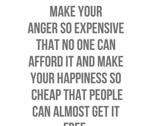 anger, happiness, and quote image