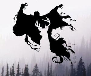 harry potter, patronus, and hogwarts image