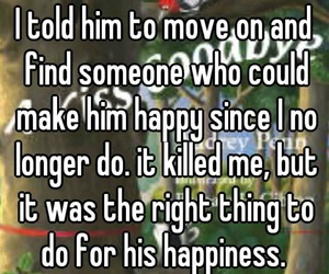 break up, find, and happiness image