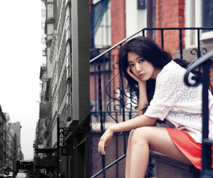 park shin hye and instyle image