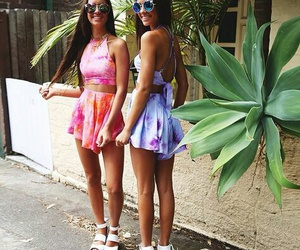 summer, friends, and fashion image