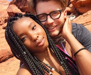 interracial and love image