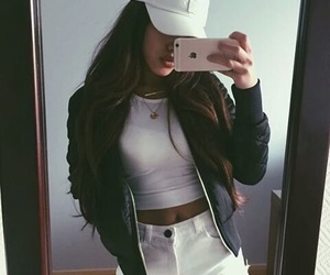 iphone, jacket, and cute image