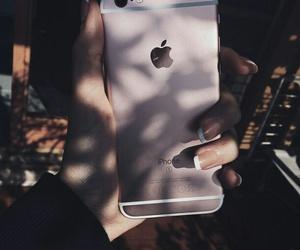 dark, iphone, and nails image