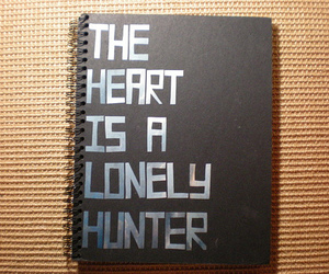 book, hunter, and lonely image