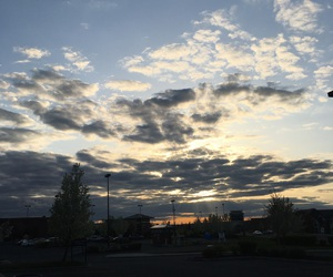 skies and sunsets image
