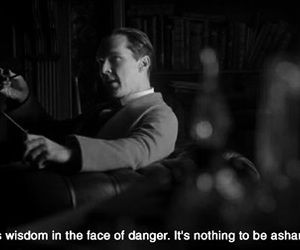 fear, quote, and sherlock image