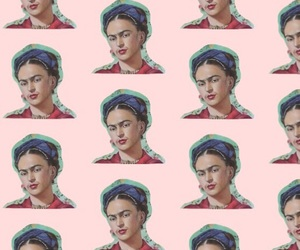 frida kahlo, pattern, and wallpaper image