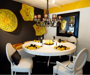 dining room decor ideas, dining table ideas, and dining room ideas image