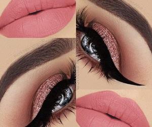 cat eye, makeup, and eyeliner image