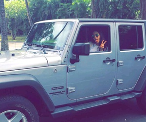 hawaii, jeep, and life image