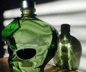 alien, green, and drink image