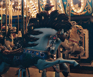 carousel, horse, and indie image