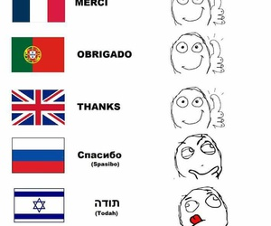 funny, gracias, and languages image