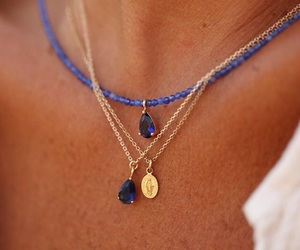 accessories, necklaces, and spring fashion image