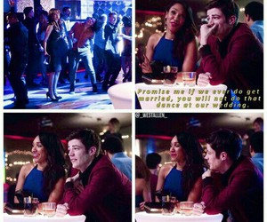 flash, grant gustin, and candice patton image