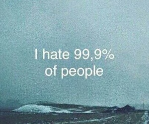 hate, people, and quote image