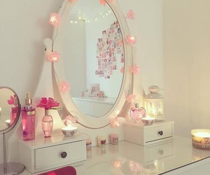 girly, pink, and cute image