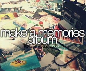 memories, album, and bucket list image