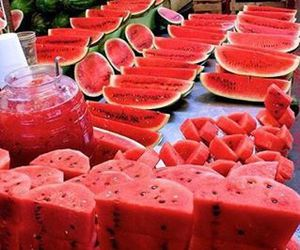 fruit, summer, and love it image