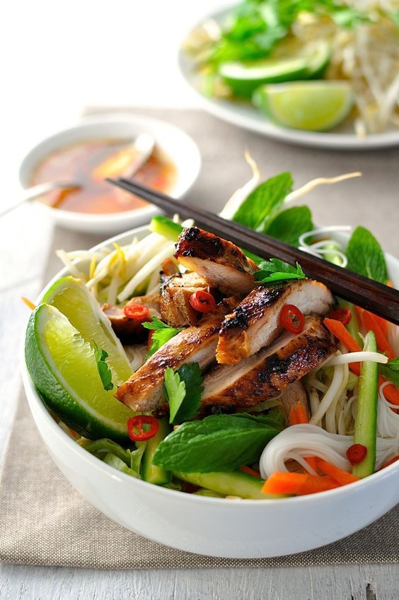 Chicken, bowl, and food image
