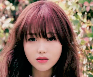 hair, kpop, and sujeong image