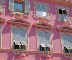 doll, house, and pink image