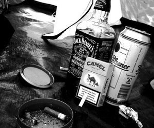 camel, alcohol, and cigarette image