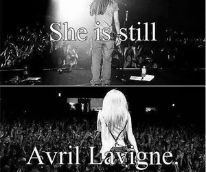 Avril Lavigne and concert image