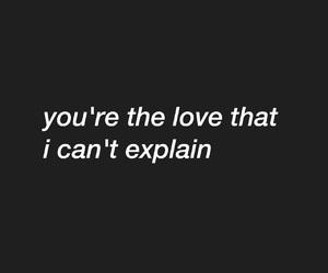 sad, you, and love image