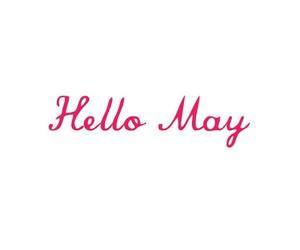 may, spring, and hello may image