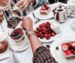 food, red, and drink image