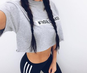 fashion, style, and adidas image